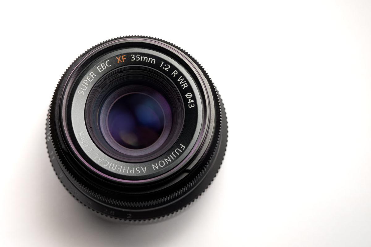 Fujinon 35mm f/2 WR Lens